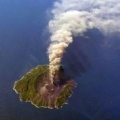 Die Entstehung einer Insel
